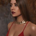 Moderatorin Karina Krimmel - Beauty Aufnahme