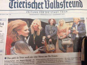 TV Artikel zur Frauenmesse Trier