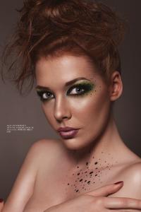 Awesome makeup art by Inga Krasileviciute
