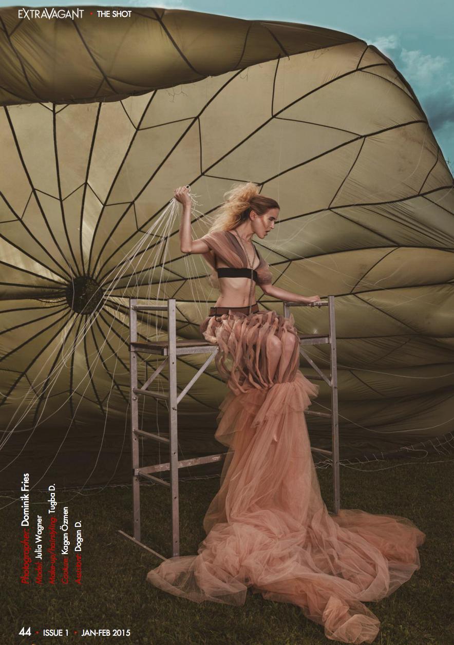 Fashion Ausgabe 1 Extrawagant Mag US Print